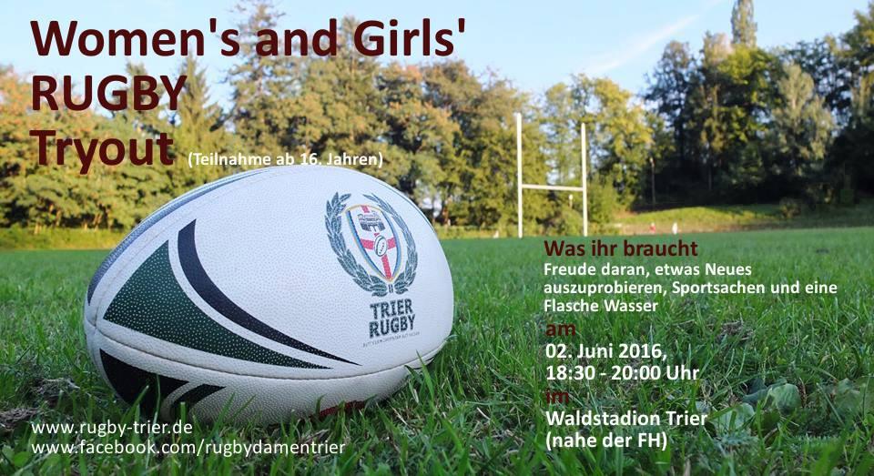 Let's Ruck'n'Roll – Rugby Tryout für Mädchen und Frauen